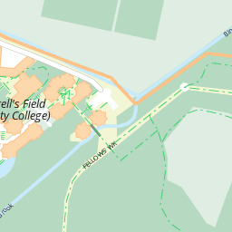 Butler House: Map of the University of Cambridge