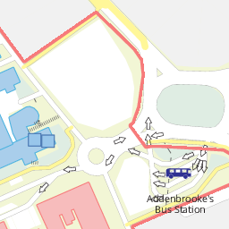 Addenbrooke\\\\\\\'s Hospital Map Addenbrooke's Hospital: Map of the University of Cambridge