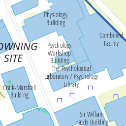 The Henry Wellcome Building Map Of The University Of Cambridge